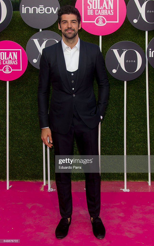Actor <a gi-track='captionPersonalityLinkClicked' href=/galleries/search?phrase=Miguel+Angel+Munoz&family=editorial&specificpeople=714734 ng-click='$event.stopPropagation()'>Miguel Angel Munoz</a> attends the 'Yo Dona' international awards at La Quinta de la Munoza on June 27, 2016 in Madrid, Spain.