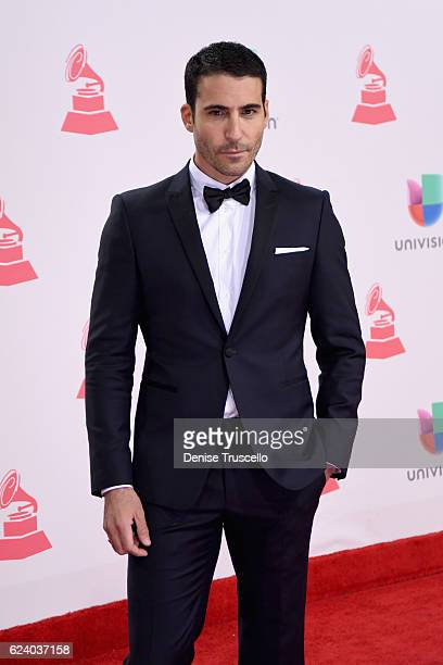 Actor Miguel Angel Silvestre attends The 17th Annual Latin Grammy Awards at TMobile Arena on November 17 2016 in Las Vegas Nevada