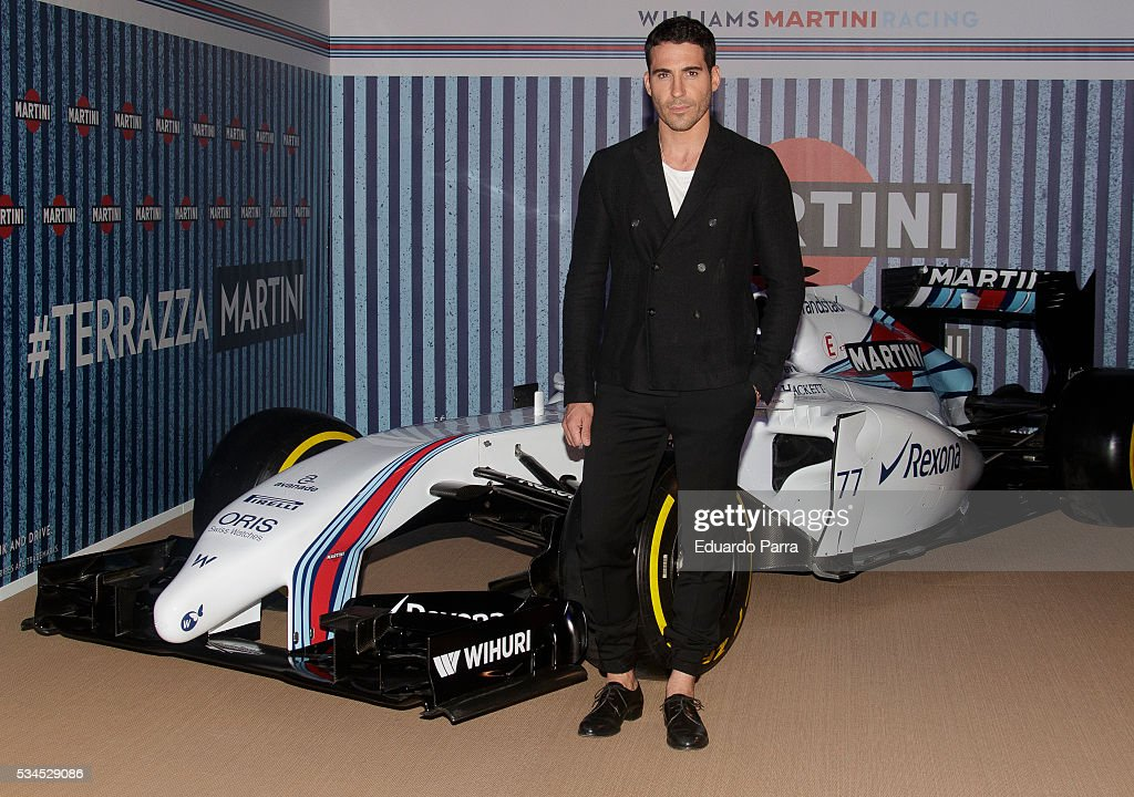 Actor Miguel Angel Silvestre attends the Martini Terrace party at Madrid Citi Hall on May 26, 2016 in Madrid, Spain.