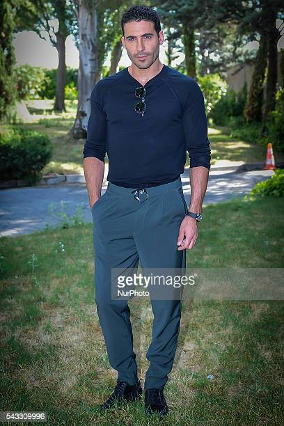 Actor Miguel Angel Silvestre attends the presentation of the TV series 'Velvet' on 27 June 2016 in Madrid Spain /NurPhoto