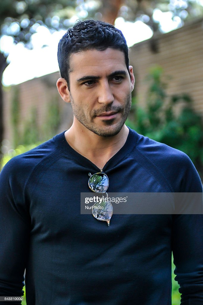 Actor <a gi-track='captionPersonalityLinkClicked' href=/galleries/search?phrase=Miguel+Angel+Silvestre&family=editorial&specificpeople=4001600 ng-click='$event.stopPropagation()'>Miguel Angel Silvestre</a> attends the presentation of the TV series 'Velvet' on 27 June 2016 in Madrid, Spain. /NurPhoto