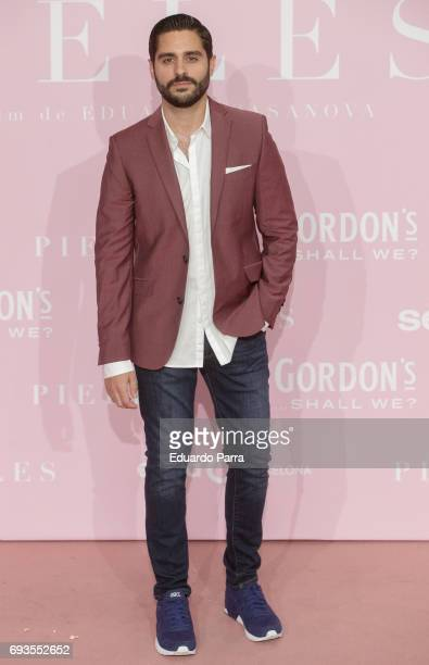 Actor Miguel Diosdado attends the 'Pieles' premiere at Capitol cinema on June 7 2017 in Madrid Spain