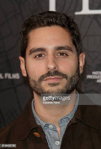 Actor Miguel Diosdado attends the 'Que Dios nos perdone' photocall at Capitol cinema on October 26 2016 in Madrid Spain