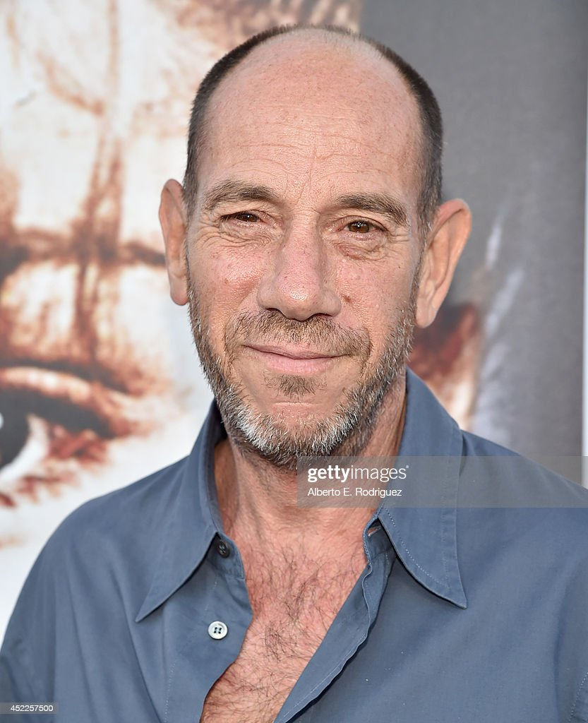 Actor Miguel Ferrer arrives to The American Film Institute Presents 'Twin Peaks-The Entire Mystery' Blu-Ray/DVD Release Screening at the Vista Theatre on July 16, 2014 in Los Angeles, California.