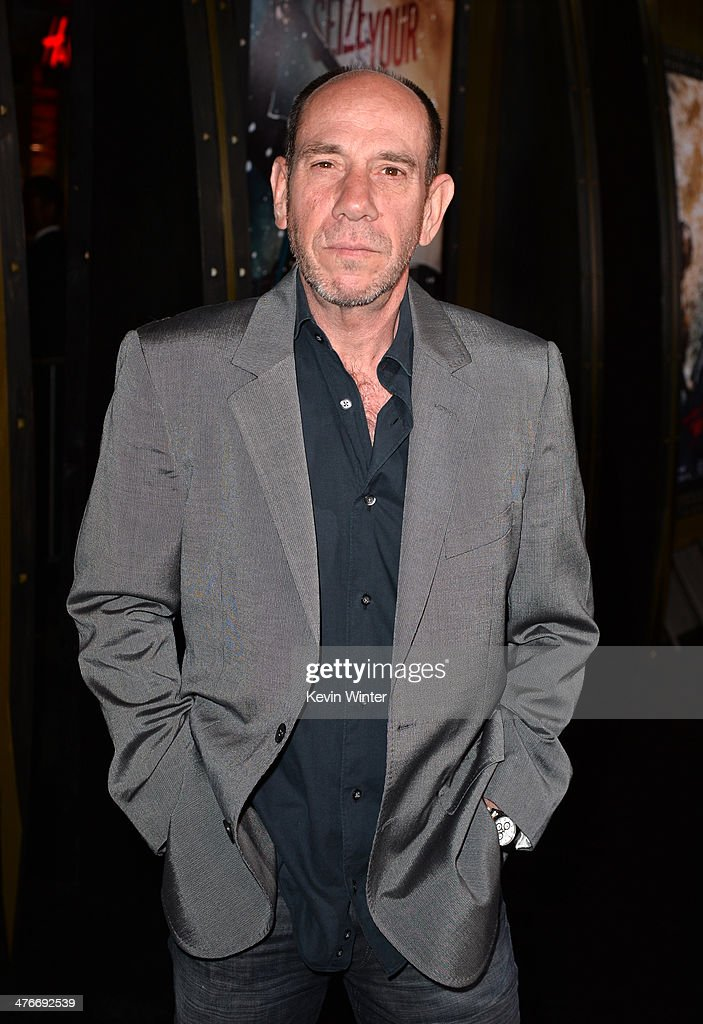 Actor <a gi-track='captionPersonalityLinkClicked' href=/galleries/search?phrase=Miguel+Ferrer&family=editorial&specificpeople=225011 ng-click='$event.stopPropagation()'>Miguel Ferrer</a> attends the premiere of Warner Bros. Pictures and Legendary Pictures' '300: Rise Of An Empire' at TCL Chinese Theatre on March 4, 2014 in Hollywood, California.