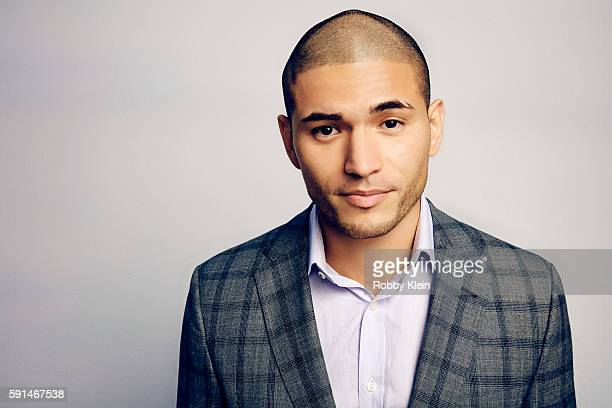 Actor Miguel Gomez from FX's 'The Strain' poses for a portrait at the FOX Summer TCA Press Tour at Soho House on August 9 2016 in Los Angeles...