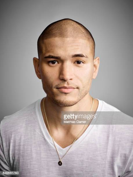 Actor Miguel Gomez from 'The Strain' is photographed for Entertainment Weekly Magazine on July 21 2016 at Comic Con in the Hard Rock Hotel in San...