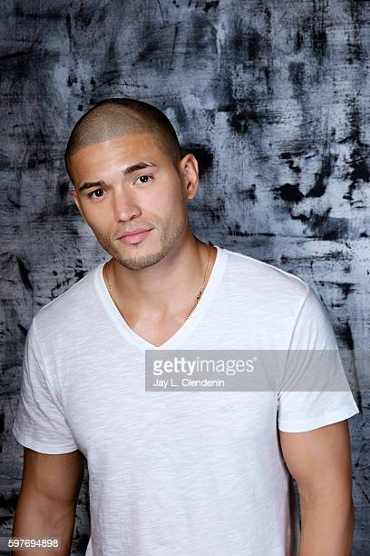 Actor Miguel Gomez of FX's 'The Strain' is photographed for Los Angeles Times at San Diego Comic Con on July 22 2016 in San Diego California