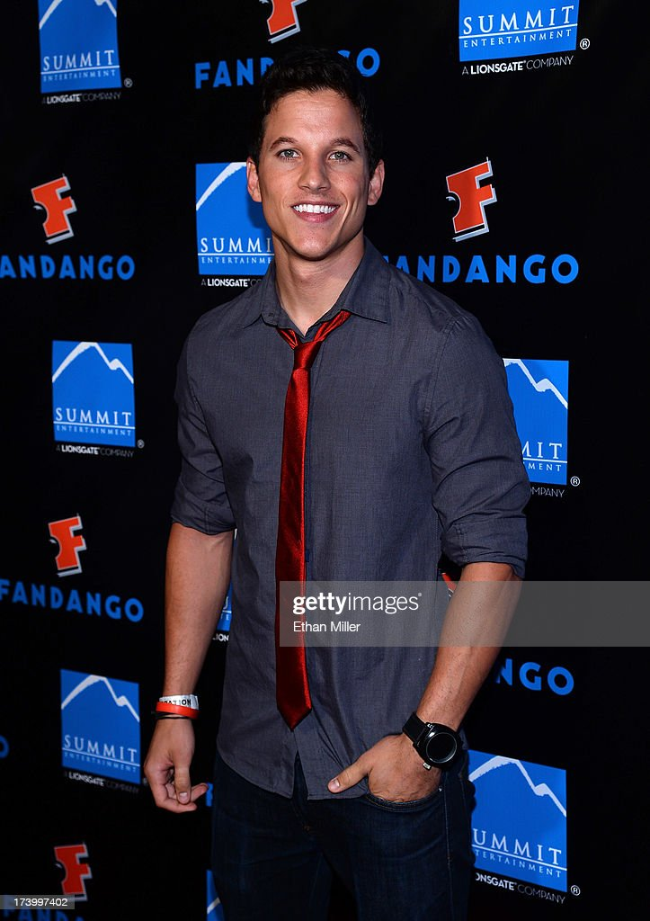 Actor Mike C. Manning arrives at Summit Entertainment's press event for the movies 'Ender's Game' and 'Divergent' at the Hard Rock Hotel San Diego on July 18, 2013 in San Diego, California.
