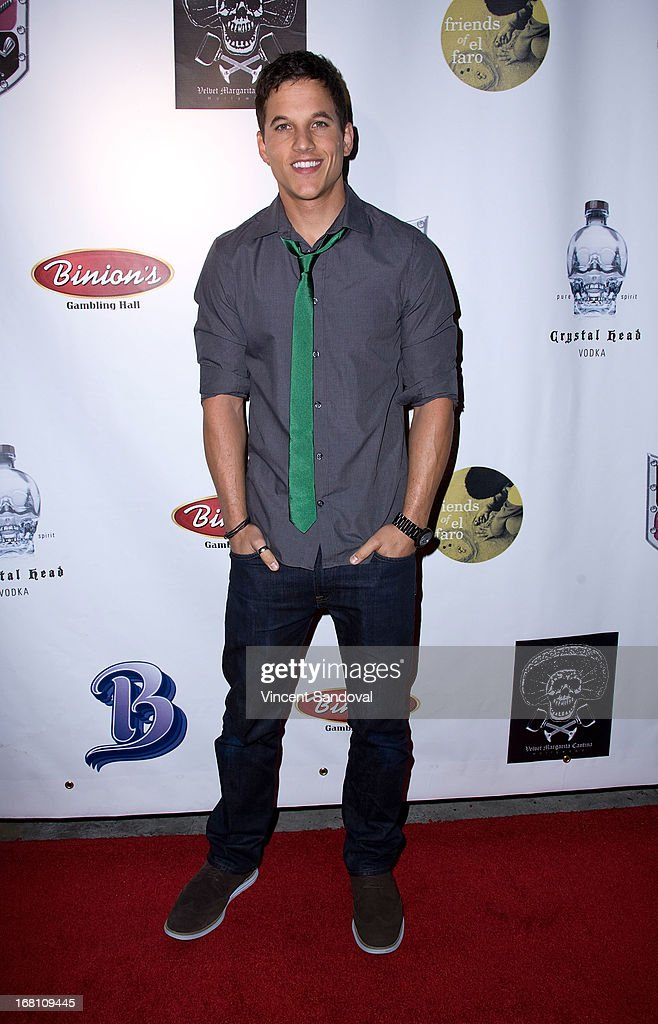 Actor Mike C. Manning attends the 10th annual anniversary and Cinco De Mayo benefit with annual Charity Celebrity Poker Tournament at Velvet Margarita on May 4, 2013 in Hollywood, California.