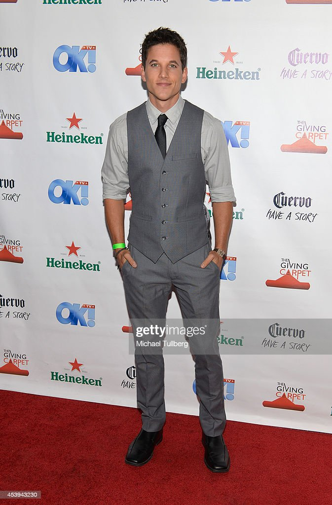 Actor Mike C. Manning attends the OK! TV Awards Party at Sofitel Hotel on August 21, 2014 in Los Angeles, California.