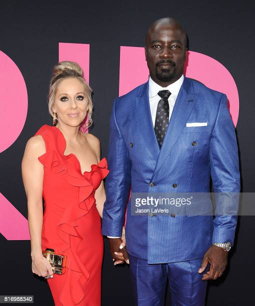 Actor Mike Colter and wife Iva Colter attend the premiere of 'Girls Trip' at Regal LA Live Stadium 14 on July 13 2017 in Los Angeles California