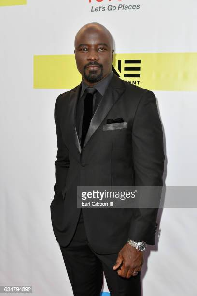 Actor Mike Colter attends the 48th NAACP Image Awards at Pasadena Civic Auditorium on February 11 2017 in Pasadena California