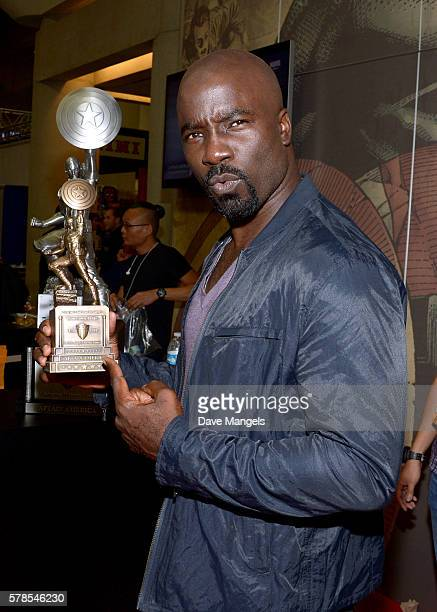 Actor Mike Colter during ComicCon International 2016 at San Diego Convention Center on July 21 2016 in San Diego California