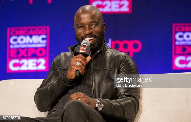 Actor Mike Colter during the 2017 C2E2 Chicago Comic Entertainment Expo at McCormick Place on April 23 2017 in Chicago Illinois