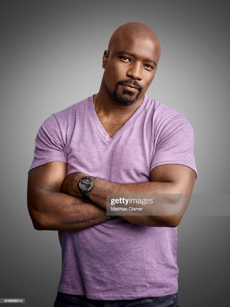 Actor Mike Colter from 'Marvels Luke Cage' is photographed for Entertainment Weekly Magazine on July 21, 2016 at Comic Con in the Hard Rock Hotel in San Diego, California.