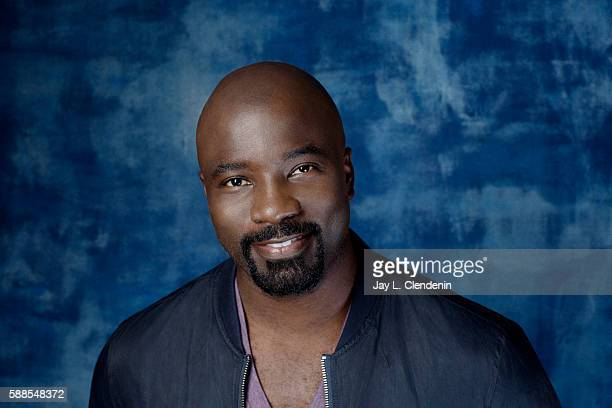 Actor Mike Colter of 'Luke Cage' is photographed for Los Angeles Times at San Diego Comic Con on July 22 2016 in San Diego California