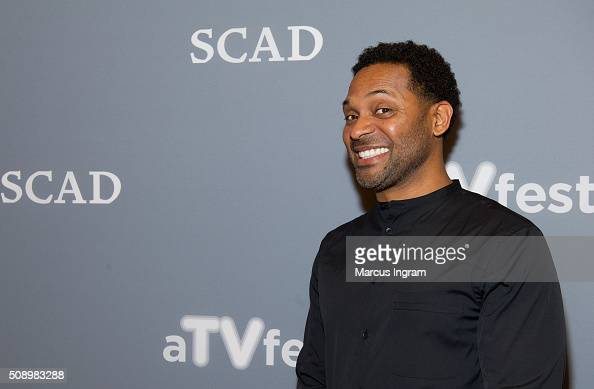 Actor Mike Epps attends 'Uncle Buck' event during SCAD aTVfest 2016 Day 4 at the Four Seasons Atlanta Hotel on February 7 2016 in Atlanta Georgia