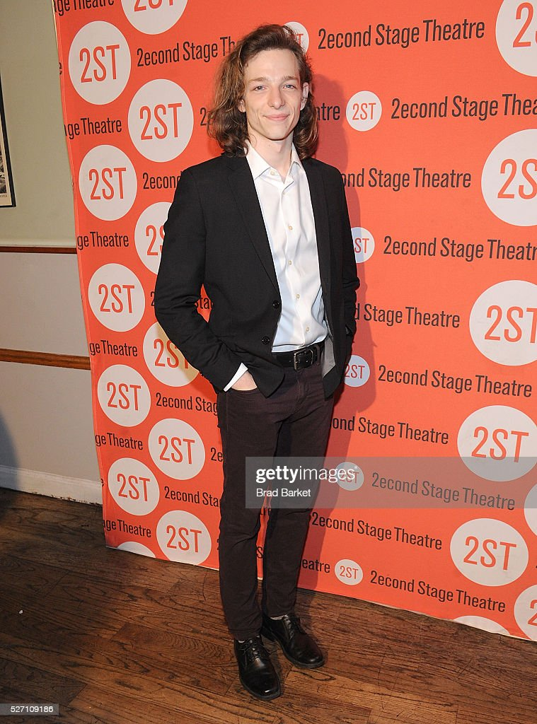 Actor Mike Faist attends 'Dear Evan Hansen' Off-Broadway Opening Celebration - Party at John's Pizzeria on May 1, 2016 in New York City.