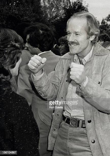 Actor Mike Farell attending 'Celebration Signing of the California Bilateral Nuclear Weapons Freeze Initiative' on January 12 1982 at Bud Yorkin's...