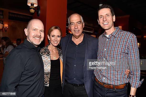 Actor Mike Henry 20th Century Fox TV CoChairman Dana Walden 20th Century Fox TV CoChairman Gary Newman and producer Steve Callaghan attend Twentieth...