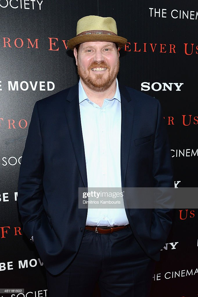 Actor Mike Houston attends the 'Deliver Us From Evil' screening hosted by Screen Gems & Jerry Bruckheimer Films with The Cinema Society at SVA Theater on June 24, 2014 in New York City.