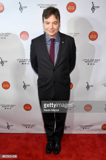 Actor Mike Meyers attends the Little Kids Rock Benefit 2017 at PlayStation Theater on October 18 2017 in New York City