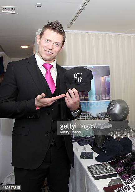 Actor Mike Mizanin attends Kari Feinstein's Oscars Style Lounge at Mondrian Los Angeles on February 23 2012 in West Hollywood California