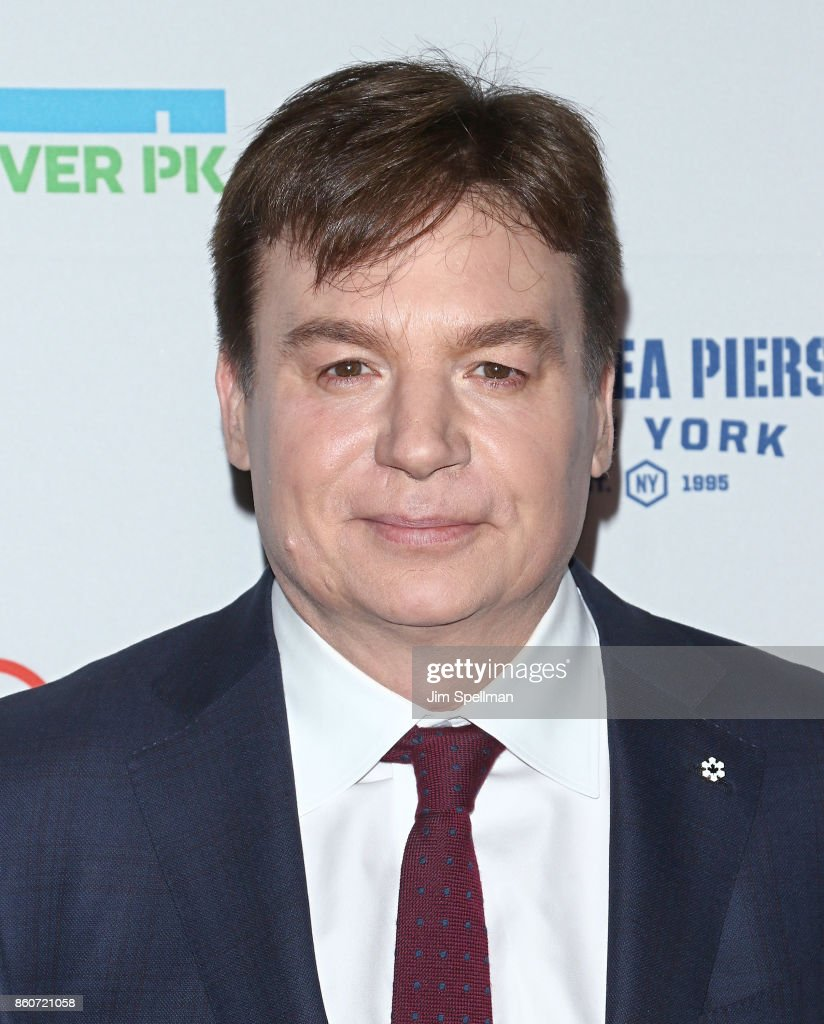 Actor Mike Myers attends the 2017 Hudson River Park gala at Hudson River Park's Pier 62 on October 12, 2017 in New York City.