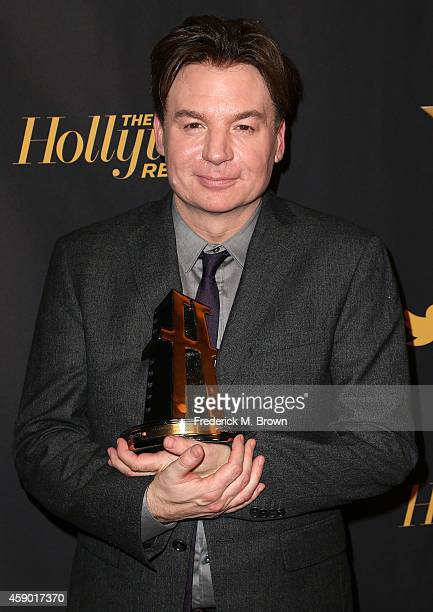 Actor Mike Myers attends The Hollywood Reporter's 18th Annual Hollywood Film Awards After Party at the W Hollywood on November 14 2014 in Hollywood...