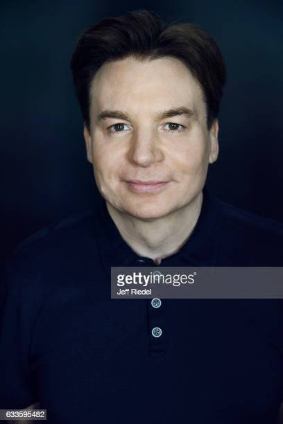 Actor Mike Myers is photographed for Variety on October 30 2014 in Los Angeles California