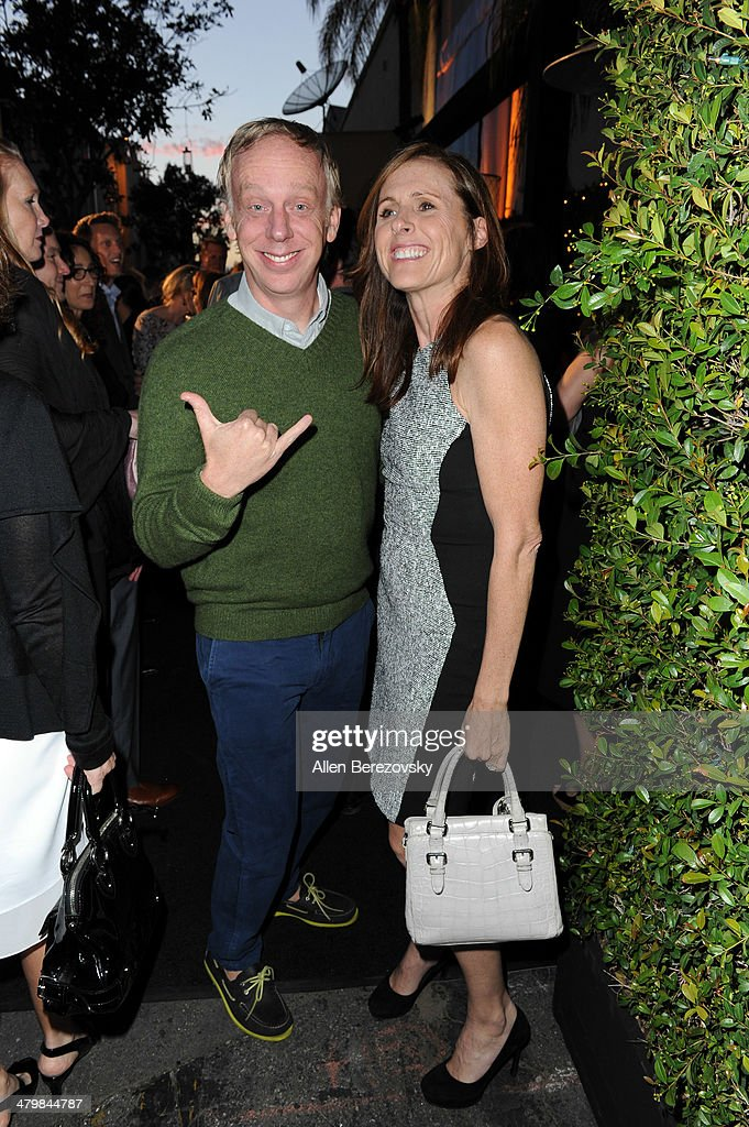 Actor <a gi-track='captionPersonalityLinkClicked' href=/galleries/search?phrase=Mike+White+-+Screenwriter&family=editorial&specificpeople=4604186 ng-click='$event.stopPropagation()'>Mike White</a> and actress <a gi-track='captionPersonalityLinkClicked' href=/galleries/search?phrase=Molly+Shannon&family=editorial&specificpeople=213534 ng-click='$event.stopPropagation()'>Molly Shannon</a> attend the 2nd Annual Rebel With A Cause Gala cocktail reception at Paramount Studios on March 20, 2014 in Hollywood, California.