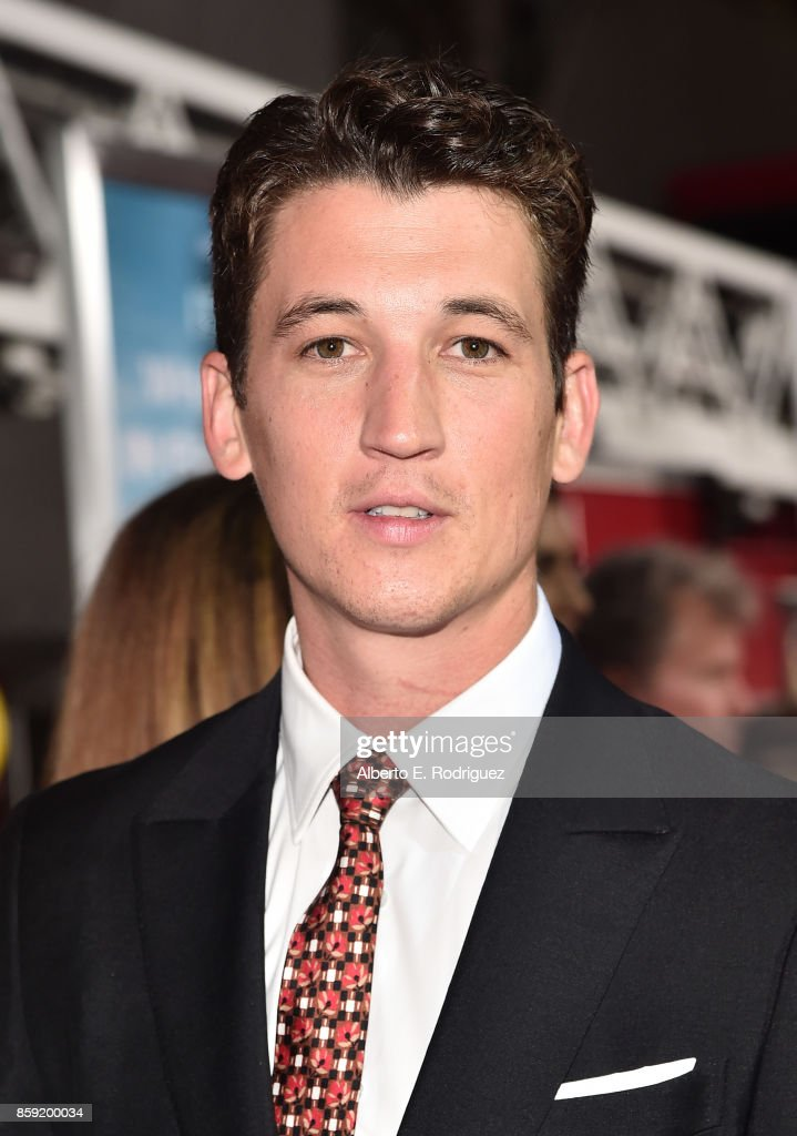 Actor Miles attends the premiere of Columbia Pictures' 'Only The Brave' at the Regency Village Theatre on October 8, 2017 in Westwood, California.