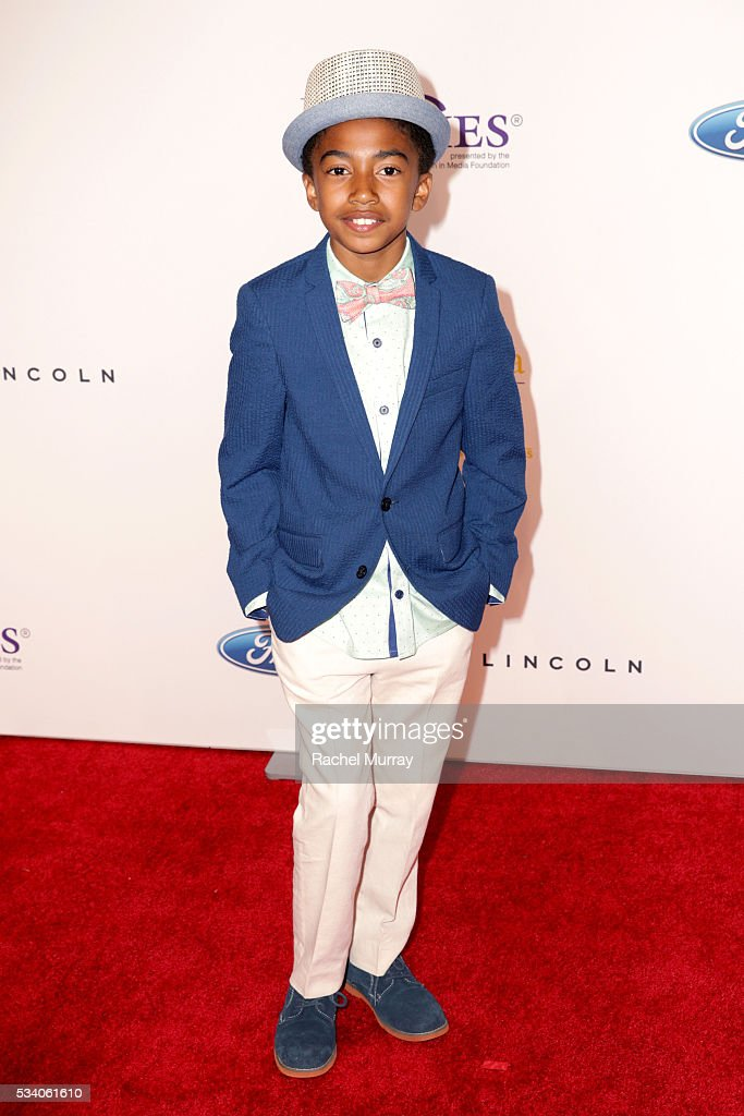 Actor Miles Brown attends the 41st Annual Gracie Awards at Regent Beverly Wilshire Hotel on May 24, 2016 in Beverly Hills, California.