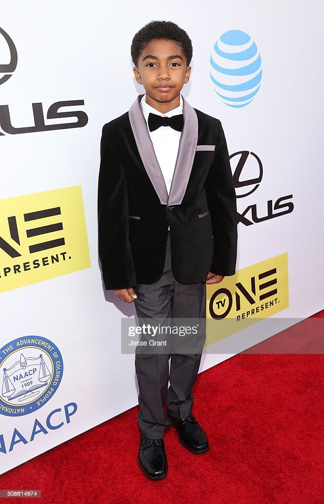 Actor <a gi-track='captionPersonalityLinkClicked' href=/galleries/search?phrase=Miles+Brown&family=editorial&specificpeople=6931307 ng-click='$event.stopPropagation()'>Miles Brown</a> attends the 47th NAACP Image Awards presented by TV One at Pasadena Civic Auditorium on February 5, 2016 in Pasadena, California.