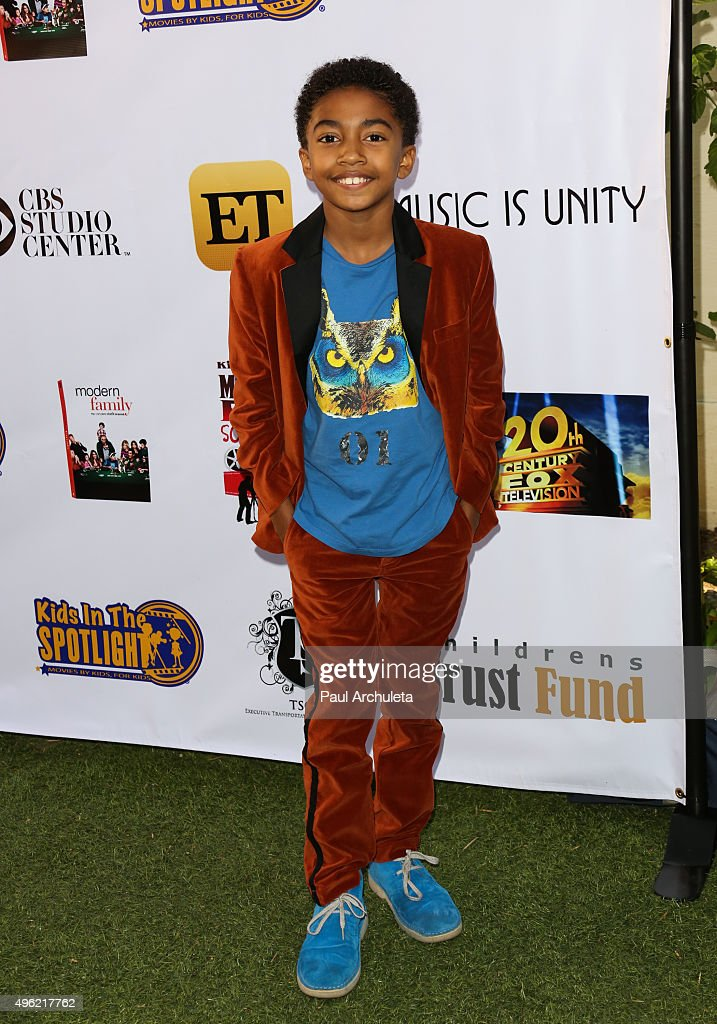 Actor Miles Brown attends the Kids In The Spotlight's Movies By Kids, For Kids Film Awards at Fox Studios on November 7, 2015 in Los Angeles, California.