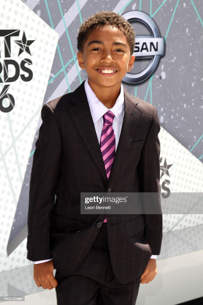 Actor <a gi-track='captionPersonalityLinkClicked' href=/galleries/search?phrase=Miles+Brown&family=editorial&specificpeople=6931307 ng-click='$event.stopPropagation()'>Miles Brown</a> attends the Make A Wish VIP Experience at the 2016 BET Awards on June 26, 2016 in Los Angeles, California.