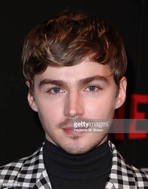 Actor Miles Heizer arrives at the Netflix FYSee Kick Off Event at Netflix FYSee Space on May 7 2017 in Beverly Hills California
