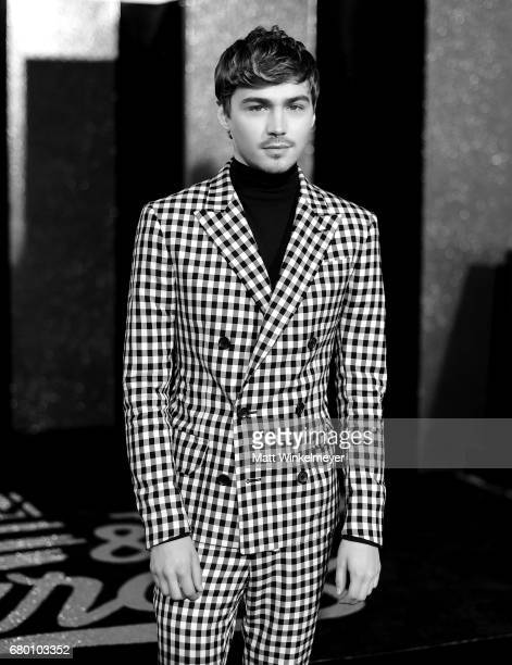 Actor Miles Heizer attends the 2017 MTV Movie And TV Awards at The Shrine Auditorium on May 7 2017 in Los Angeles California
