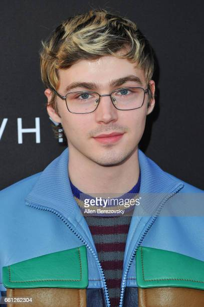 Actor Miles Heizer attends the Premiere of Netflix's '13 Reasons Why' at Paramount Pictures on March 30 2017 in Los Angeles California