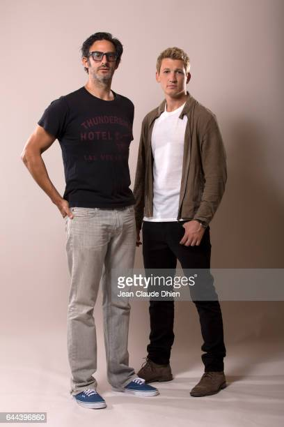 Actor Miles Teller and director Ben Younger photographed for MovieMaker on August 4 in New York City