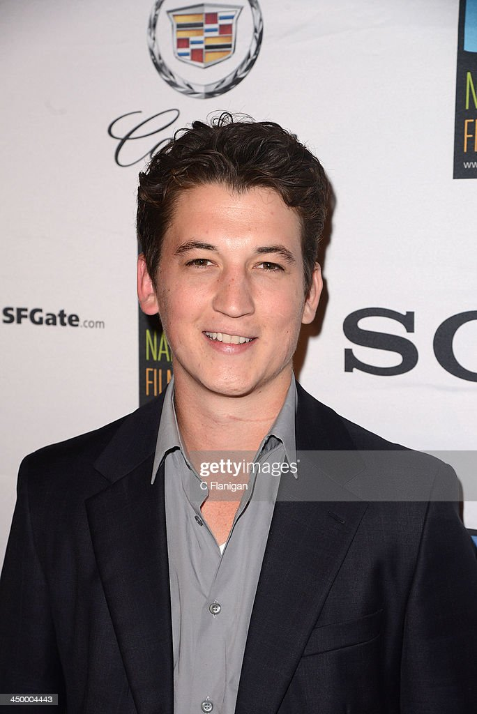 Actor Miles Teller arrives at the Napa Valley Film Festival Celebrity Tribute on November 15, 2013 in Napa, California.
