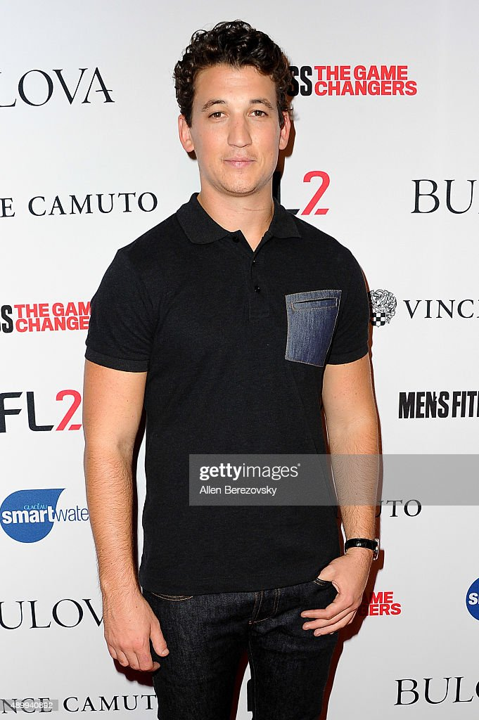 Actor Miles Teller attends Men's Fitness Magazine Hosts Annual 'Game Changers' Celebration at Palihouse on September 24, 2015 in West Hollywood, California.