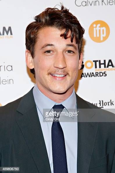 Actor Miles Teller attends the 24th Annual Gotham Independent Film Awards at Cipriani Wall Street on December 1 2014 in New York City