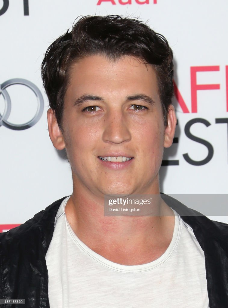 Actor Miles Teller attends the Los Angeles Times Young Hollywood Roundtable at AFI FEST 2013 presented by Audi at the TCL Chinese Theatre on November 8, 2013 in Hollywood, California.