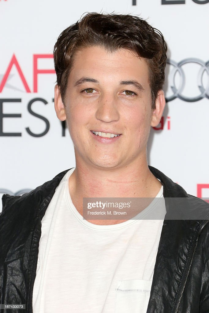 Actor <a gi-track='captionPersonalityLinkClicked' href=/galleries/search?phrase=Miles+Teller&family=editorial&specificpeople=6471673 ng-click='$event.stopPropagation()'>Miles Teller</a> attends The Los Angeles Times Young Hollywood Roundtable during AFI FEST 2013 presented by Audi at TCL Chinese Theatre on November 8, 2013 in Hollywood, California.