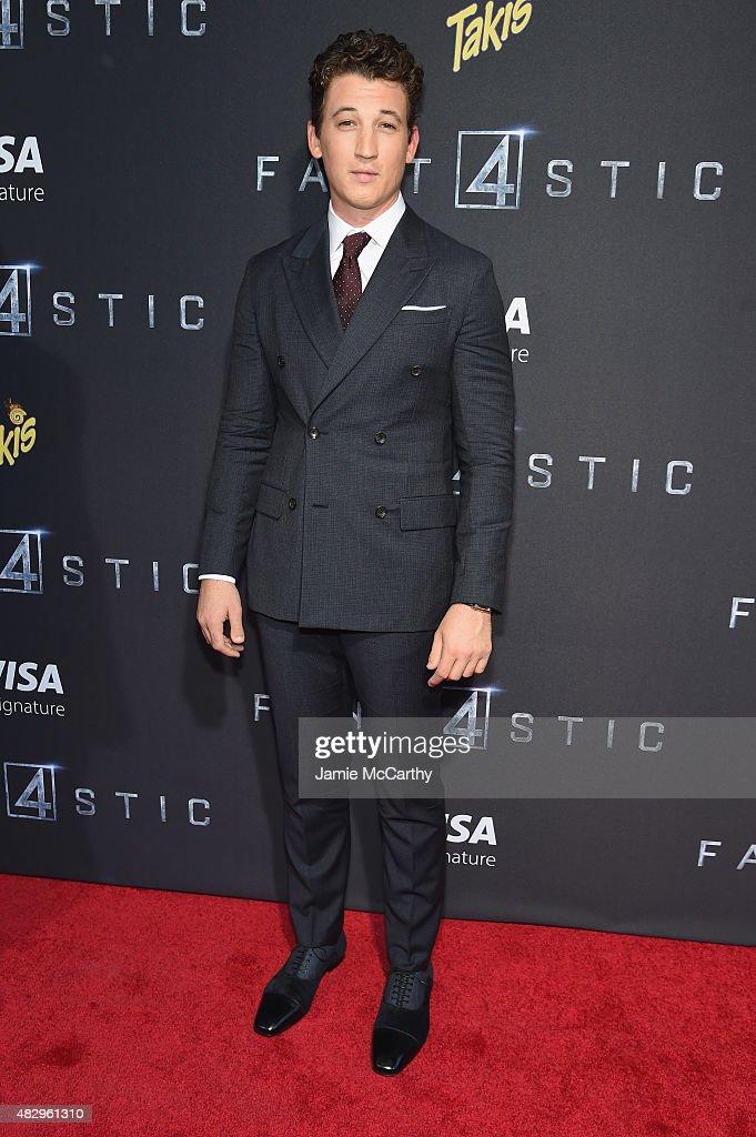 """Fantastic Four"" New York Premiere"