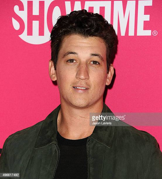 Actor Miles Teller attends the TMobile Uncarrier X launch at The Shrine Auditorium on November 10 2015 in Los Angeles California