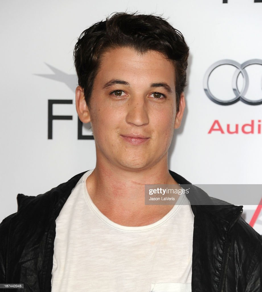 Actor <a gi-track='captionPersonalityLinkClicked' href=/galleries/search?phrase=Miles+Teller&family=editorial&specificpeople=6471673 ng-click='$event.stopPropagation()'>Miles Teller</a> attends the Young Hollywood Roundtable at the 2013 AFI Fest at TCL Chinese Theatre on November 8, 2013 in Hollywood, California.