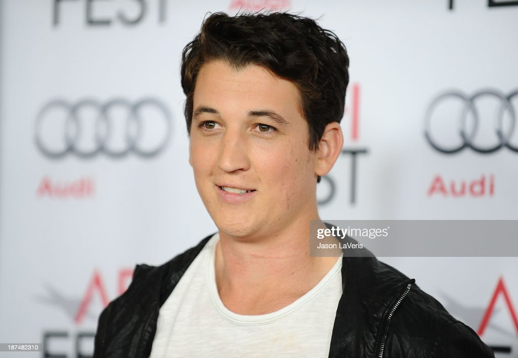 Actor Miles Teller attends the Young Hollywood Roundtable at the 2013 AFI Fest at TCL Chinese Theatre on November 8, 2013 in Hollywood, California.